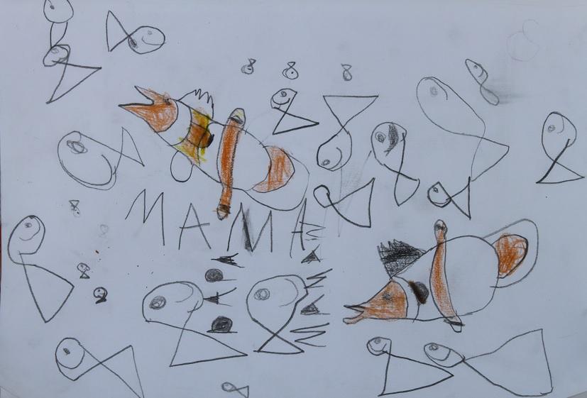 Erell à l'aquarium de Lisbonne